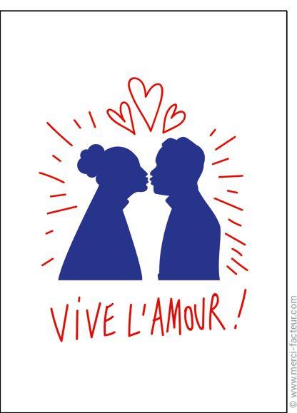 http://www.merci-facteur.com/carte-coeur.html #carte #StValentin #amour #love #Valentinsday #iloveyou #coeur #SanValentin #amor #Jetaime #Tequiero Carte Vive l'amour pour envoyer par La Poste, sur Merci-Facteur !