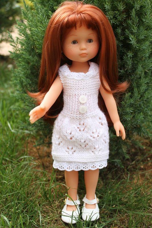 Lison et sa robe Pattes de chat :) Tuto Chérie de Corolle