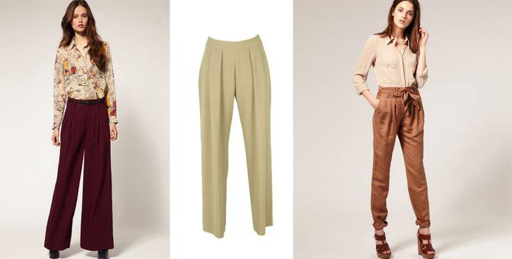 pantalones con prenses para dama - Buscar con Google