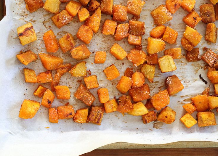 With squash in peak season, this recipe from Skinnytaste combines a variety of winter squash, including butternut, kabocha, acorn or any of your other favorites. The savory seasoning calls for smoked paprika and cayenne pepper for a flavorful side dish that tastes like pure fall.