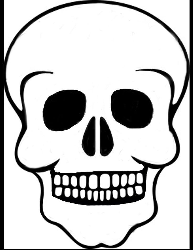 The 25 best skull template ideas on pinterest diy halloween skull template by solitairemilesiantart on deviantart pronofoot35fo Gallery
