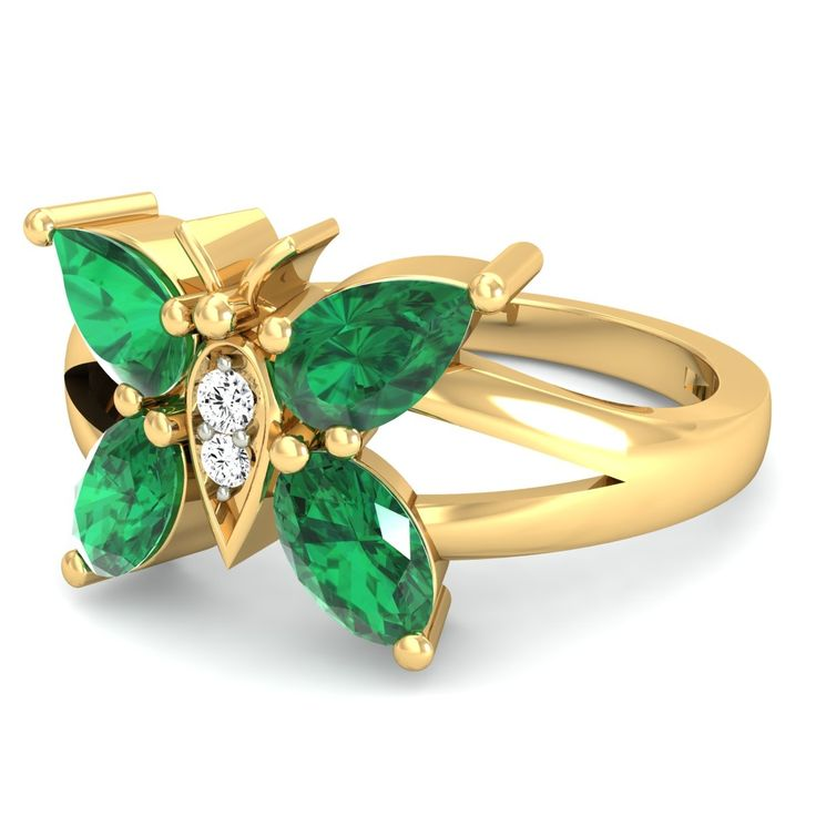 http://rubies.work/0580-emerald-rings/ Jewelry Rings AAAA CZ Diamond Ruby Star Bijoux Punk Exaggerated Bijouteire Accessories aneis de diamante
