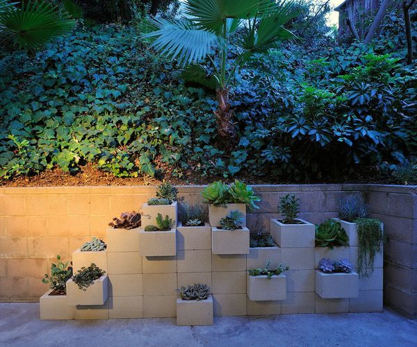 I love this planter / wall!!!!