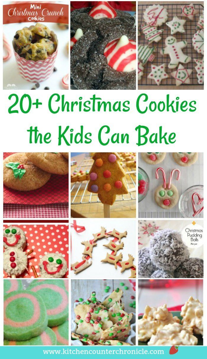 20 Spectacular Christmas Cookies For Kids To Bake Awesome Blogger