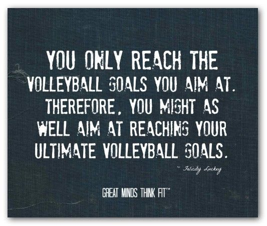 Volleyball Pictures And Quotes: #volleyball #inspirational #quotes