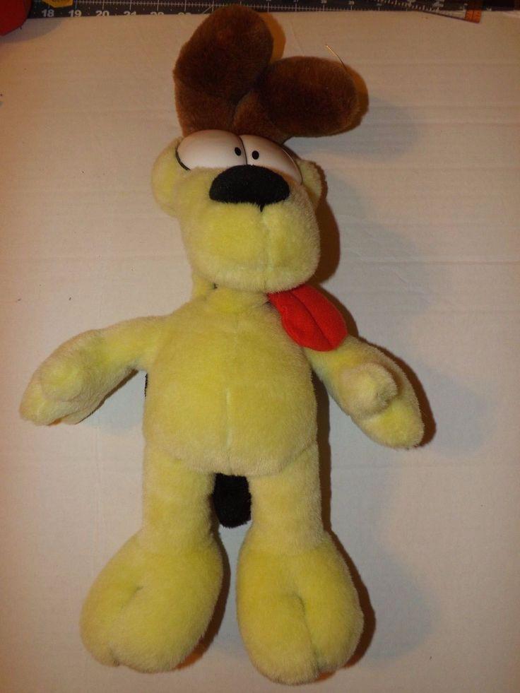 18 Plush Odie Of Garfield And Odie, Paws, Animal Land 2006