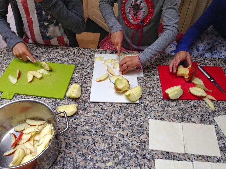 Wat ik (mee) maak...: Appelrozen