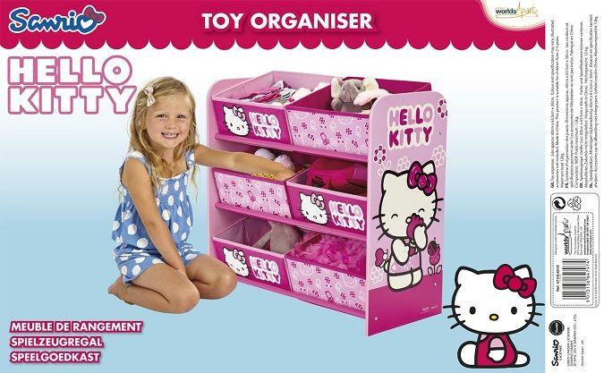 juguetero hello kitty infantil de madera 471hlk tienda de juguetes online y
