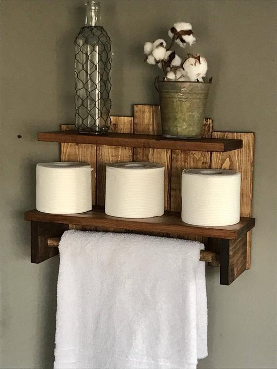 Bathroom Storage Organization Rustic Decor Storage For Bathroom Bath Towel Storage With Images Rustic Towels Toilet Paper Storage Bath Towel Storage