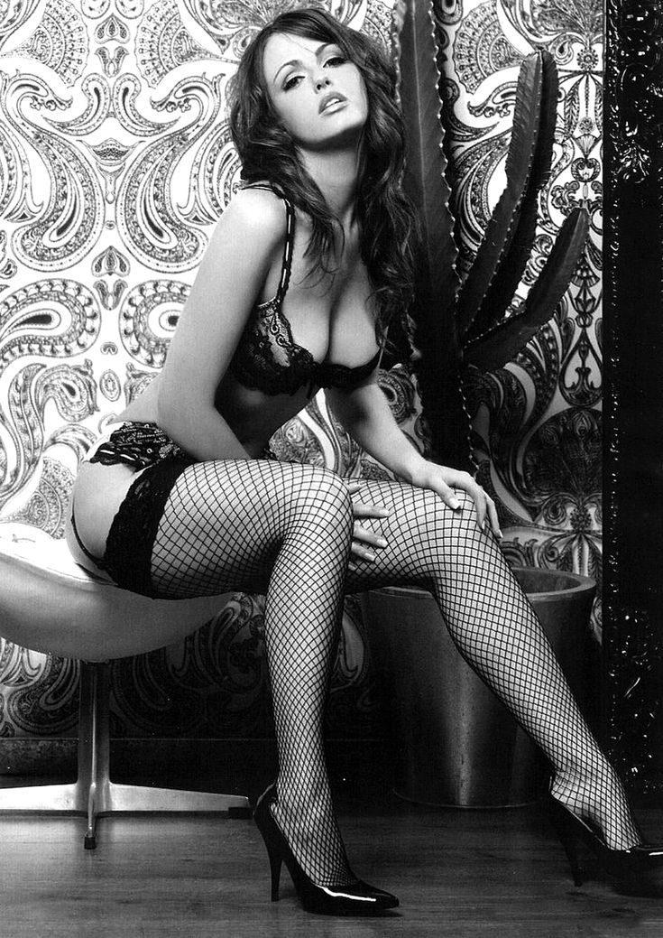 High heels and sexy lingerie...I can tell from experience how sexy in bed a female will be by how curvy and arched her feet are, I haven't come across a female that hasn't been exceptional, and very uninhibited