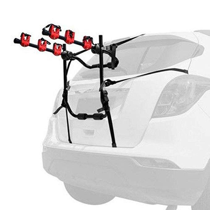 Eapmic 3 Bicycle Bike Rack Auto Hitch Mount Car Suv Truck Carrier
