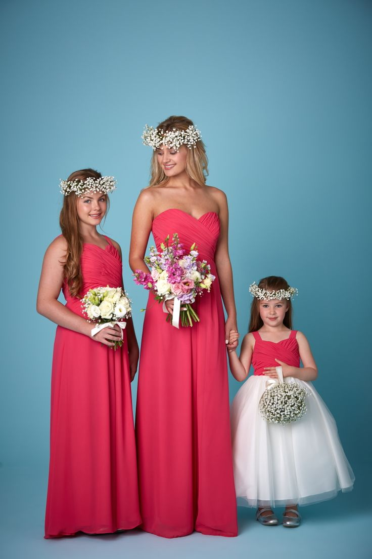 Best 25 teenage bridesmaid dresses ideas on pinterest blush watermelon strapless traditional bridesmaid and flowergirl dresses available in a range of colours ombrellifo Image collections