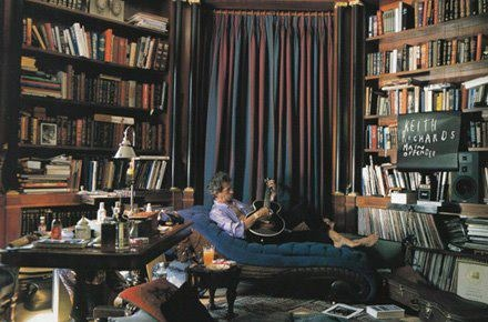 Keith Richard's library.