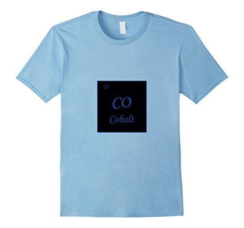 Men's Cobalt Co Periodic Table Of Elements T-shirt Chemis... https://www.amazon.com/dp/B01N5991TO/ref=cm_sw_r_pi_dp_x_3fYpybK5RYCVH