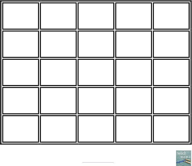 25+ Melhores Ideias De Cartões Vazios Do Bingo No Pinterest