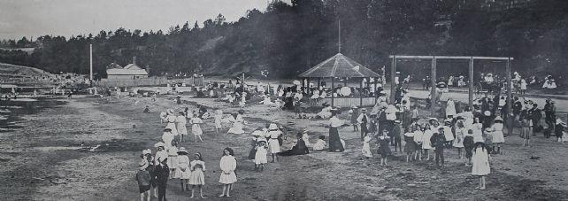 Eastern Beach, Geelong 1912