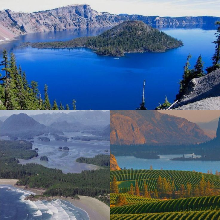 1 year goal: travel to local highlights around the west coast: 1. Crater Lake, Oregon 2. Tofino, BC 3. Kelowna, BC