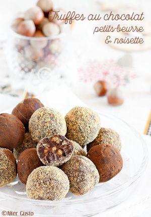 Pas de Noël sans truffes au chocolat !