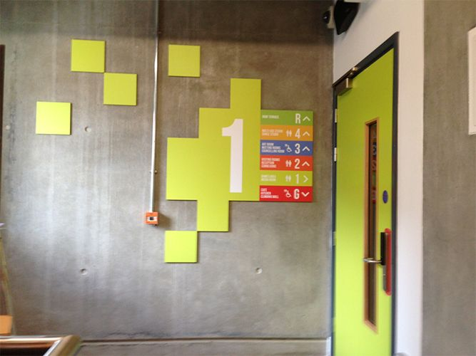 Office Signage And Way Finding Inspiration Environmental