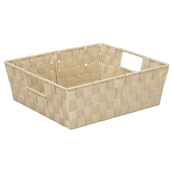 Woven Shelf Storage Tote & Reviews   Joss & Main
