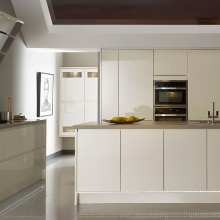 9 Best Cream Handleless Images On Pinterest  Cream Colored Alluring B & Q Kitchen Design Review