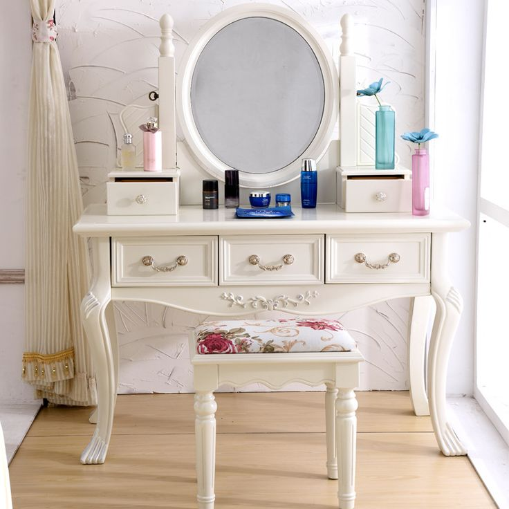 Cheap dressing leather, Buy Quality table vacuum directly from China dressing bottle Suppliers: start The mirror of the Mediterranean the white makeup ... US $1110.10 European table carved bedside