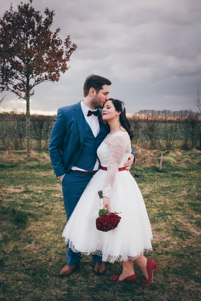 Red White Rockabilly Wedding With Pigs In 2020 Rockabilly