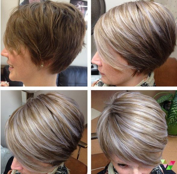 Trendfarben 2017: Platin Silber Hellblond 13 trendige Kurzhaarfrisuren  Damen Frisuren   #Kurzhaarfrisuren  kurzhaarfrisure #kurzhaarfrisurendamen  Th…