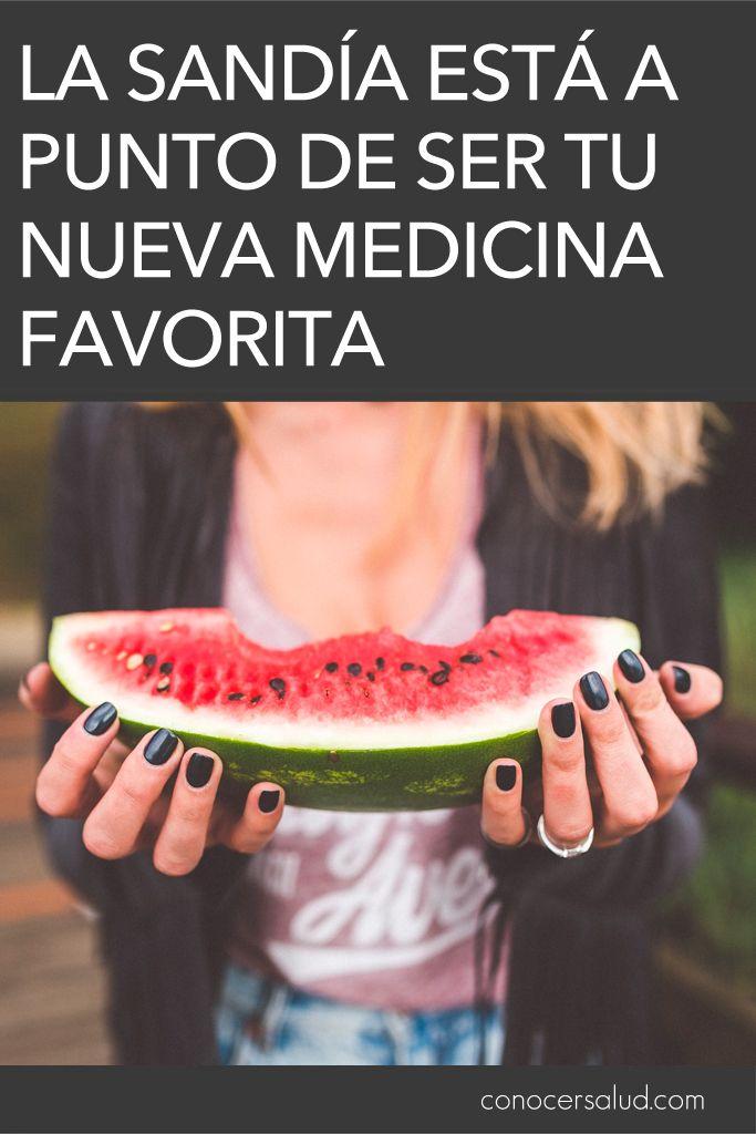 La sandía está a punto de ser tu nueva medicina favorita #salud