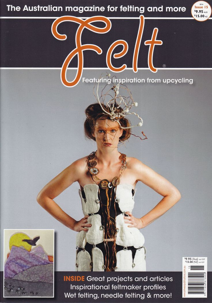 Quality Felt Magazines published in Australia and available from Australian Needle Arts