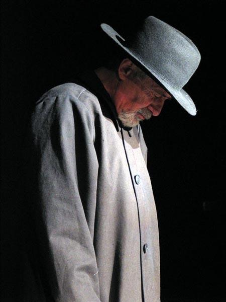 """Zbigniew Zapasiewicz (1934-2009), Polish theatre and film actor, genius, great voice and power of personality: """"Aktorzy nie powinni być na scenie prywatnymi ludźmi, stawać nadzy przed publicznością. To jest ekshibicjonizm."""""""