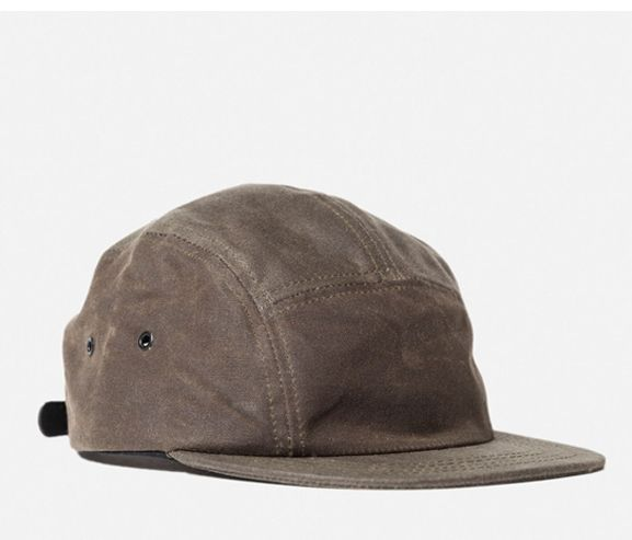 3SIXTEEN - 5-panel waxed canvas cap. Made in the USA.