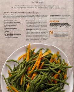 ... Carrots in Charmoula Sauce | Nom Noms | Pinterest | Green Beans, Beans
