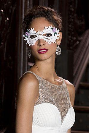 Mardi Gras Masks | Red Heart