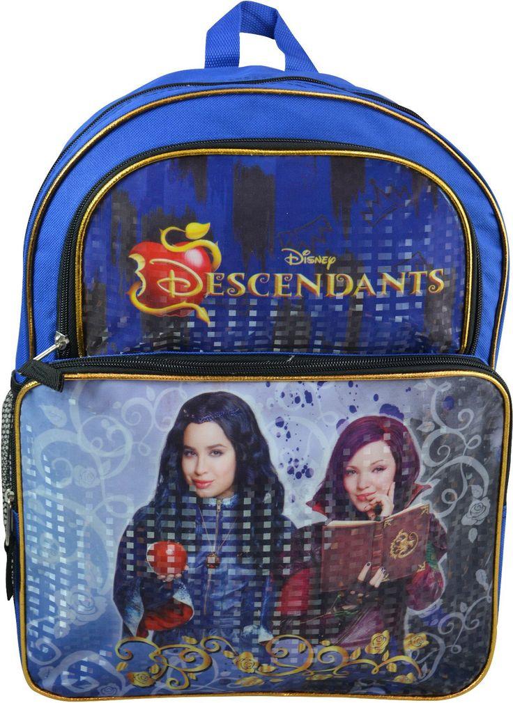 """Wholesale Backpacks Descendants """"Villains"""" 16"""" Cargo Backpacks - 48 Units"""