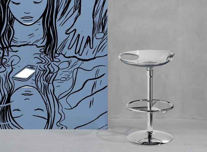Barová židle: ZOE TWIST
