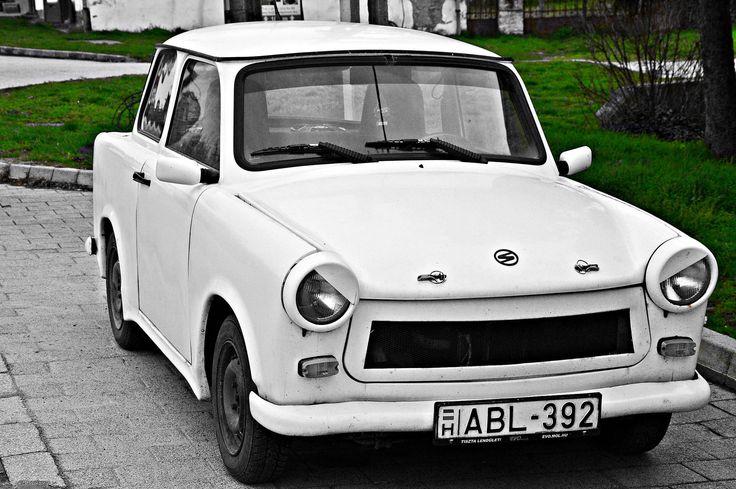 Villany, Hungary, Old car