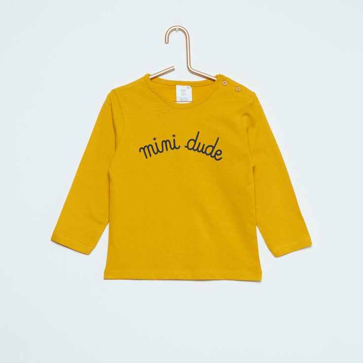 Tee-shirt à manches longues imprimé Bébé garçon - Kiabi - 2,00€