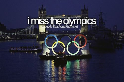 I do.. But when the next summer games come around for Rio I'll be 21 ;) ayeee loll