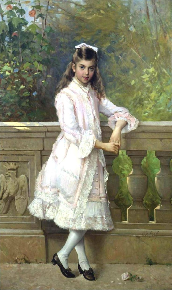 Portrait of Anna Maria Borghese  Vittorio Matteo Corcos
