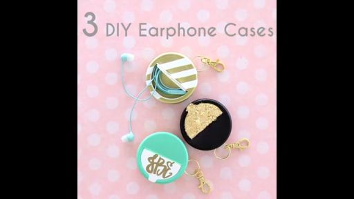 3 DIY Earphone Cases