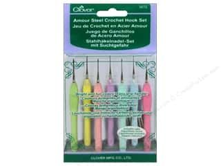 Clover Amour Steel Crochet Hook Set 7 pc. Clearance Price: $46.74 get it while it is still available