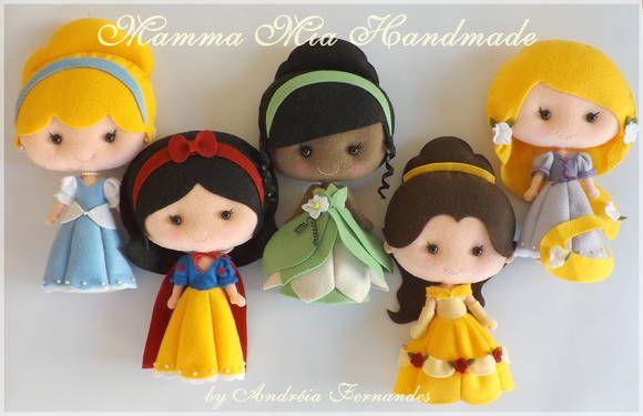 PDF Princesses Patterns (in Portuguese)