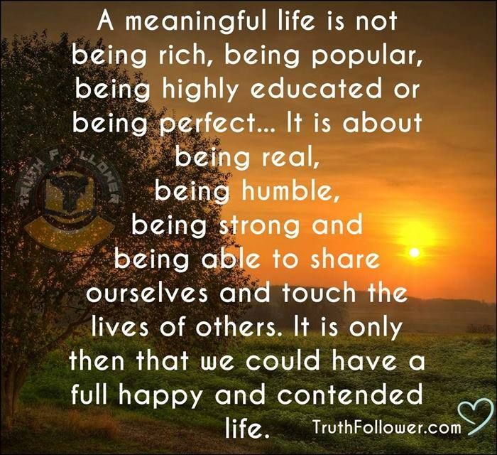 Meaning Of Life Quotes Simple 155 Best Facebook Images On Pinterest  Live Life Thoughts And