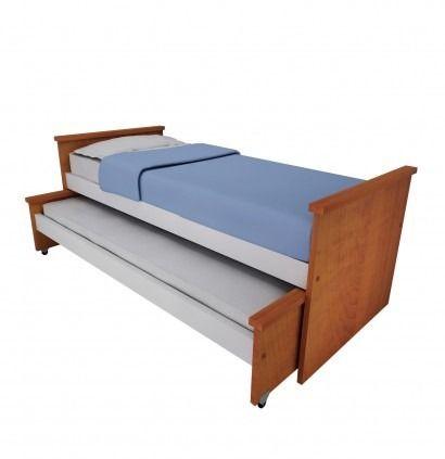 cama nido melamina 1 plaza 900