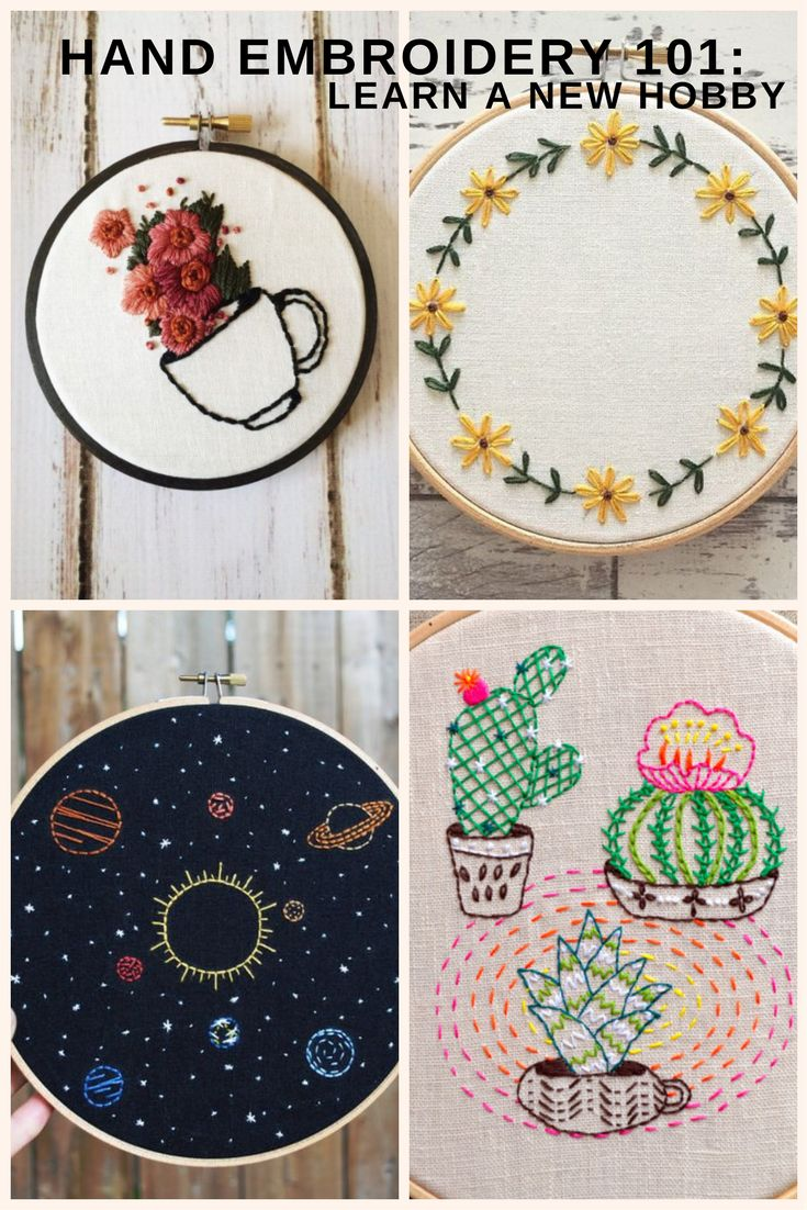 Here at FurnishMyWay, we are all about having a fun new hobby to go back to when you need to destress. We have talked about many hobbies so far, but not embroidery!