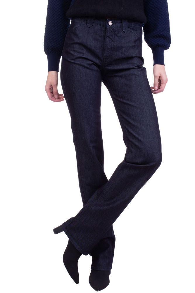 d421c86e2e EMPORIO ARMANI JEANS Blue Jeans Size 27 Stretch High Waist Straight ...