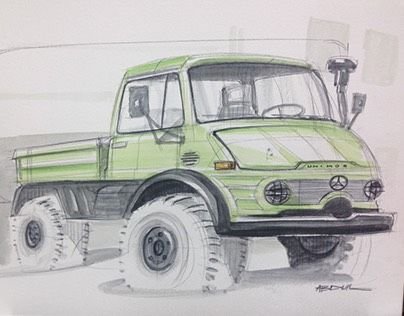 """Check out new work on my @Behance portfolio: """"Marcedes-Benz Unimog"""" http://be.net/gallery/43230091/Marcedes-Benz-Unimog"""