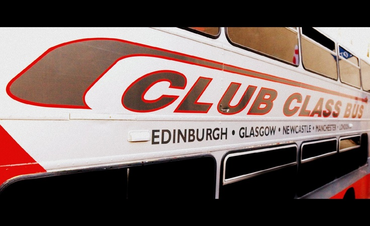 original branding for Club Class Bus