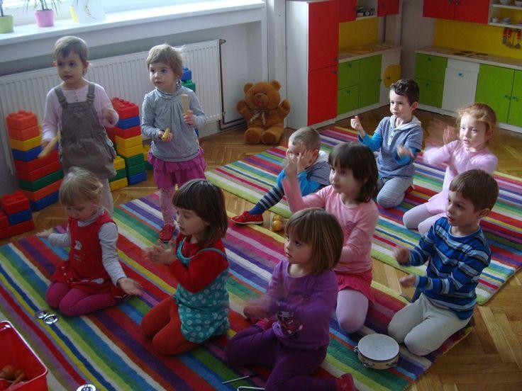Skolka Brno Creative Kids Hudba tanec
